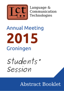 LCT Annual meeting 2015 - Groningen